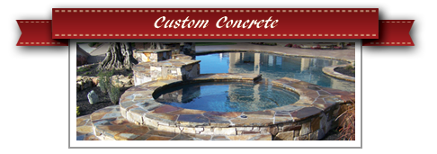 Custom Concrete Design Sacramento