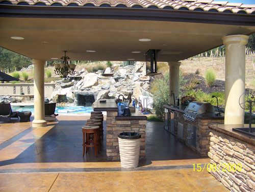Outdoor kitchens in sacramento ca outdoor kitchens for Luxury outdoor kitchen