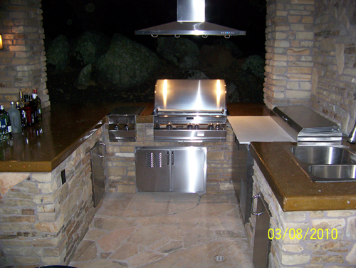Custom Outdoor Kitchen Sacramento, CA