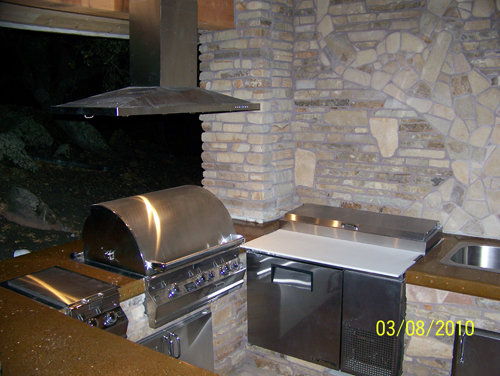 Grill/ Hood/ Deep Fryer/ Outdoor Kitchen Sacramento