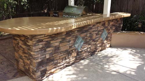 Custom Outdoor BBQ Islands Sacramento