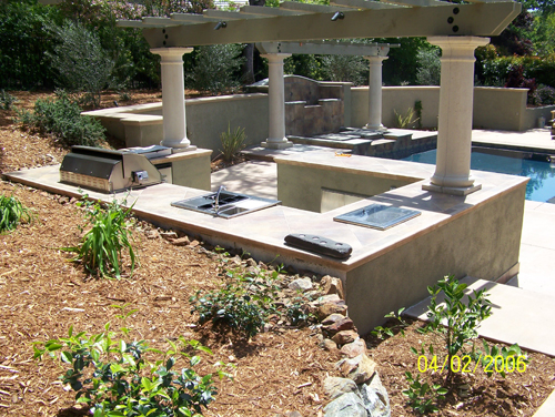 Outdoor Kitchen Sacramento 3