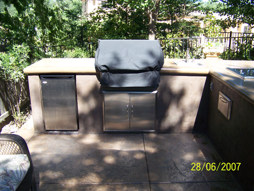 Custom Outdoor Kitchen BBQ Covers Sacramento, CA