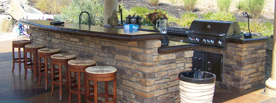 Luxury outdoor kitchen sacramento outdoor kitchen sacramento for Luxury outdoor kitchen