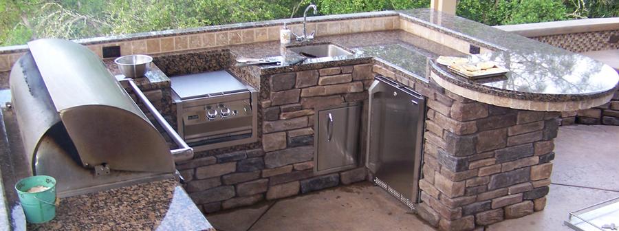Custom Outdoor Kitchens In Sacramento Can Be Custom Built