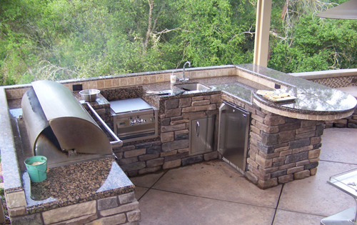 Custom Outdoor Kitchens in Sacramento can be custom built